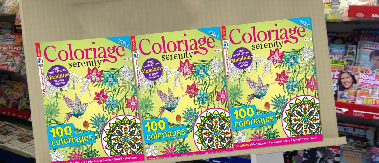 Coloriage Serenity N°10