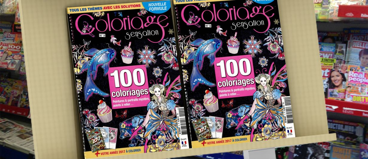 Coloriage Sensation N°9