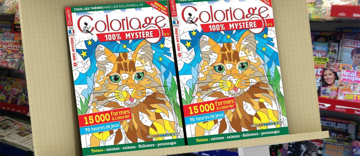 Coloriage 100% Mystère N°06