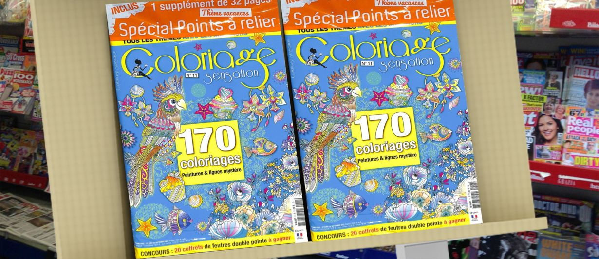 Coloriage Sensation N°11