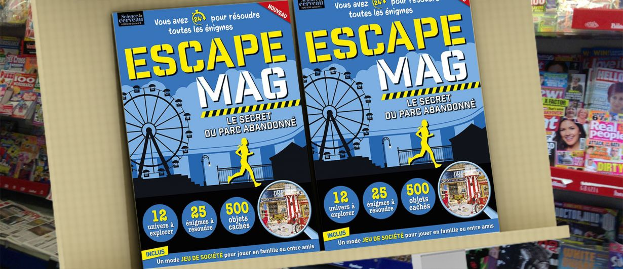 Escape Mag #01 : Le secret du parc abandonné