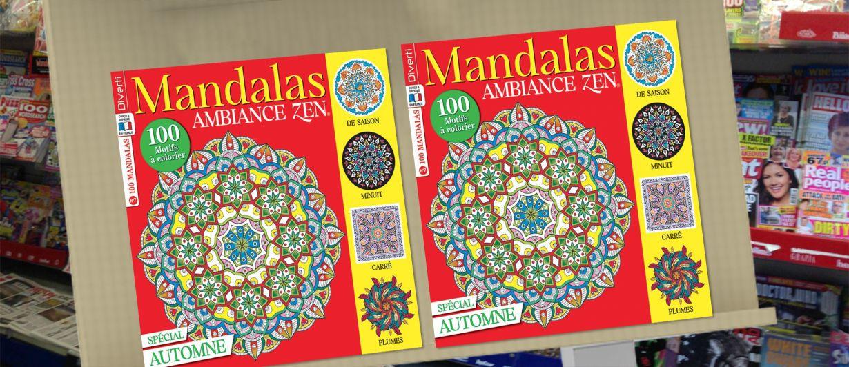 Mandalas Ambiance Zen N°07
