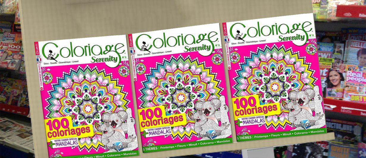 Coloriage Serenity N°06