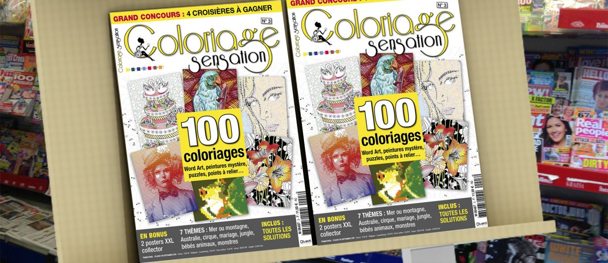 Coloriage Sensation N°3