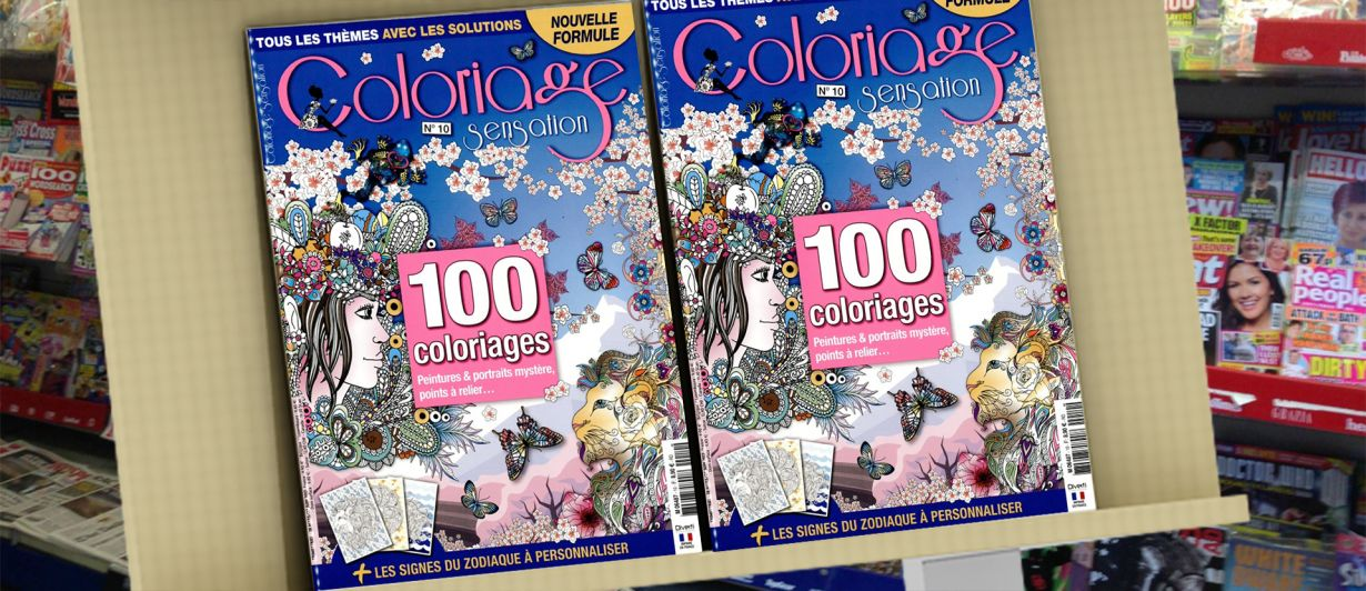 Coloriage Sensation N°10