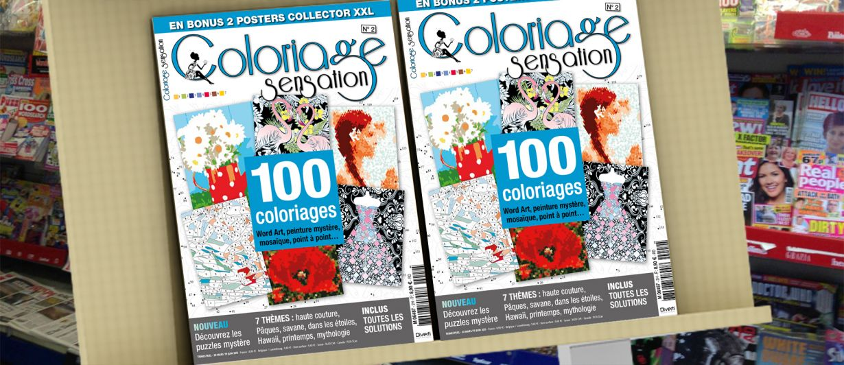Coloriage Sensation N°2