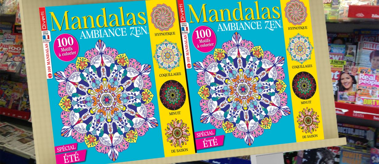 Mandalas Ambiance Zen N°14